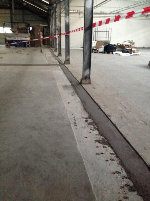Hoogte verschillen wegwerken betonvloer ranzijn nw vennep for Tuincentrum nieuw vennep